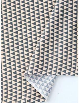 Треугольники серо-бежевые