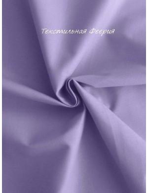 Ткань хлопок Однотонная светло-фиолетовая