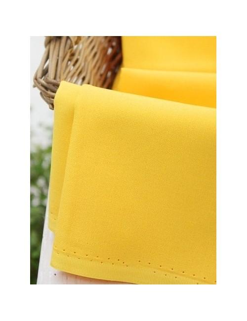 Ткань хлопок Однотонная желтая