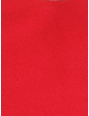 Фетр Красный, мягкий 2 мм