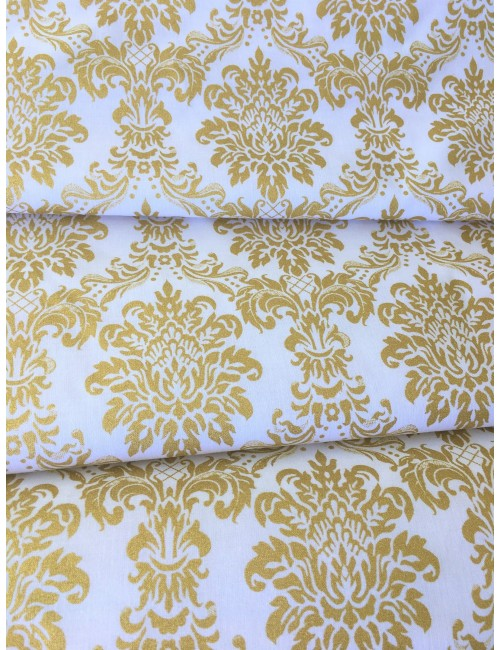 Ткань Золотой дамаск