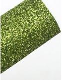 Фетр с глиттером Зеленый , 1,8 мм