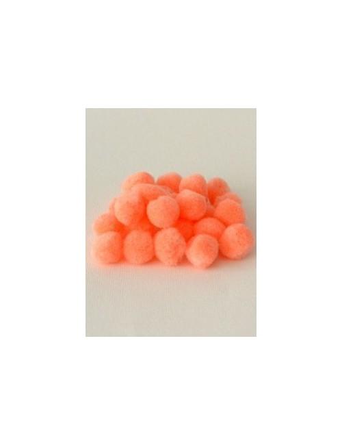 Помпон персиковый 1,5 см, набор 25 шт.