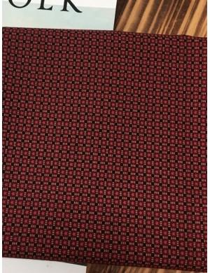 Ткань хлопок Красные звезды
