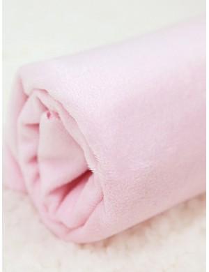 Плюш нежно-розовый