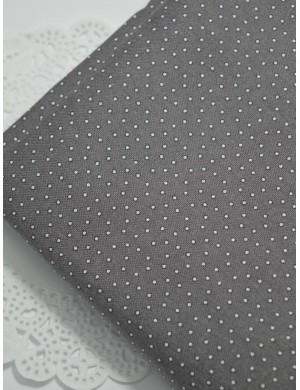 Ткань хлопок Горох серый
