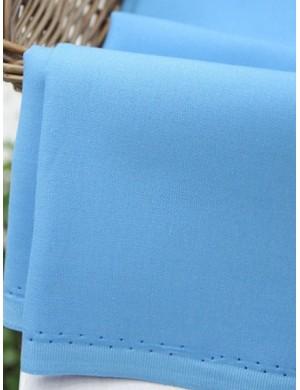 Ткань хлопок Однотоная голубая