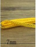Кружево хлопковое, желтое