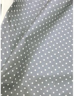 Ткань хлопок Серый горох 4 мм.