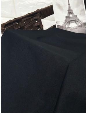 Ткань хлопок Чёрный, цвет неоднородный
