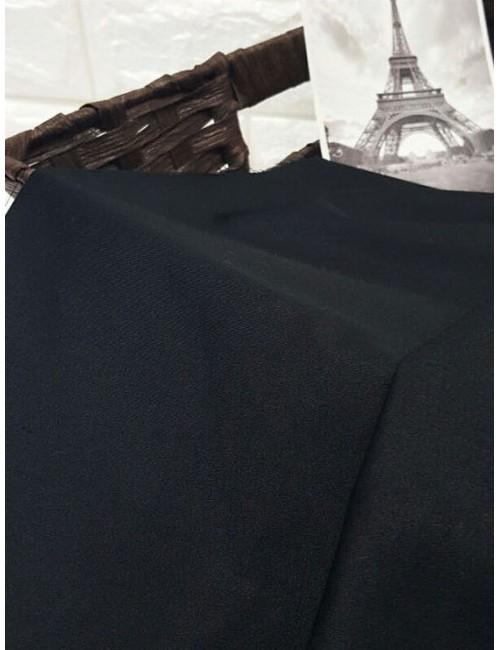 Ткань хлопок Черный, цвет неоднородный