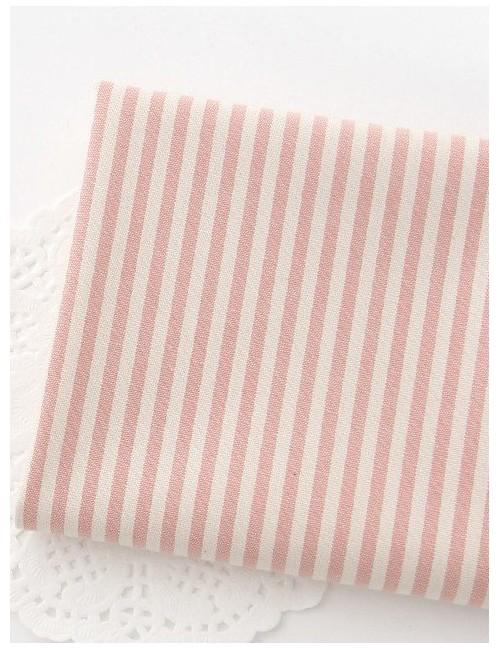 Ткань Полоска розовая