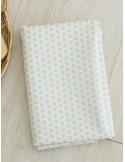 Ткань хлопок Звезды мятные 8 мм