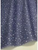 Ткань Хлопок Звезды на синем