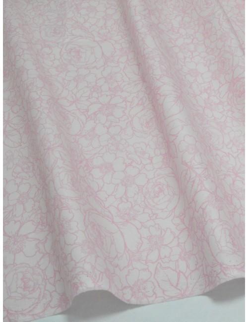 Ткань Хлопок Розовые розы