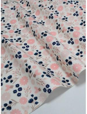 Ткань Хлопок Цветы Riley