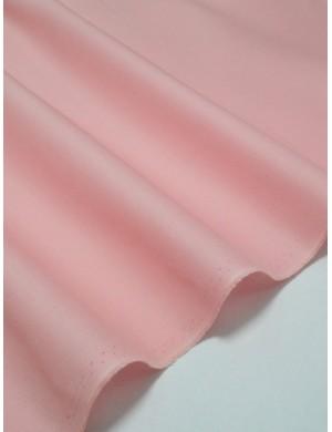 Ткань 100 % Хлопок Однотонная светло-розовая 150 (г/м2), ширина 110 см.