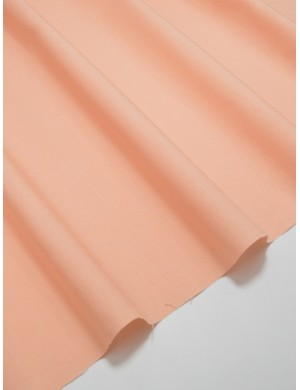 Ткань 100 % Хлопок Однотонный персиковый 150 (г/м2), ширина 110 см.