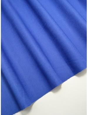 Ткань 100 % Хлопок Однотонный синий 150 (г/м2), ширина 110 см.