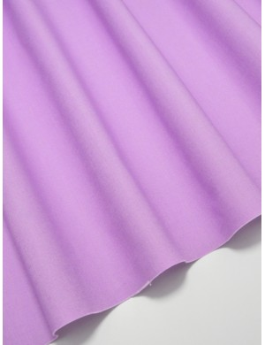 Ткань 100 % Хлопок Однотонный сиреневый 150 (г/м2), ширина 110 см.