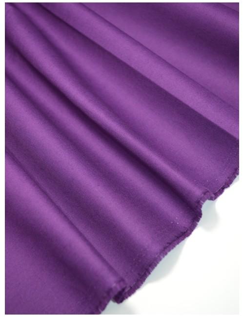 Ткань 100 % Хлопок Однотонный фиолетовый 150 (г/м2), ширина 110 см.