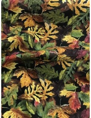 Ткань 100 % Хлопок, Осенние листья, Плотность 150 (г/м2), ширина 110 см.