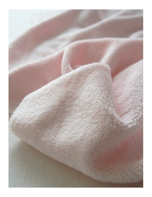 Мех нежно-розового цвета, Ширина 156 см