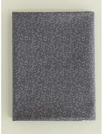 Ткань 100 % Хлопок, Ромашки на сером фоне , Плотность 150 г/м2 , ширина 110 см