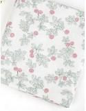 Ткань 100 % Хлопок, Ягоды брусники , Плотность 150 г/м2 , ширина 110 см