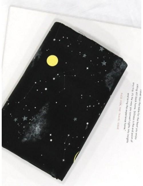 Ткань 100 % Хлопок, Ночное небо , Плотность 155 г/м2, ширина 110 см.