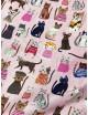 Ткань 100 % Хлопок, Котики на розовом фоне , Плотность 155 г/м2, ширина 110 см.