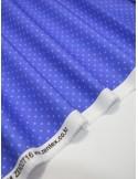Ткань 100 % хлопок, Горох небесно-голубой, Плотность 155 г/м2, Ширина 110 см.