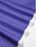Ткань 100 % Хлопок, Горох пыльно-синий , Плотность 130 г/м2, ширина 110 см.