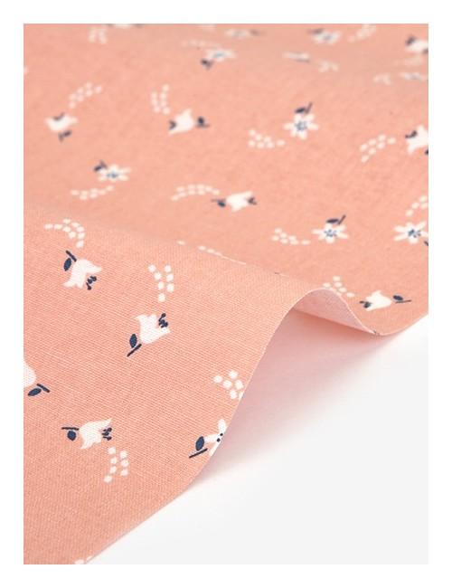 Ткань 100 % Хлопок Dailylike, Цветок цитруса , Плотность 165 г/м2, ширина 110 см.
