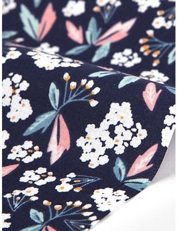 Ткань 100 % Хлопок Dailylike, Летние цветы , Плотность 120 г/м2, ширина 160 см.