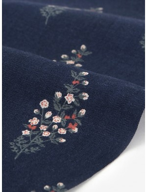 Ткань 100 % Лён Dailylike, Полевой цветок , Плотность 260 г/м2, ширина 150 см.