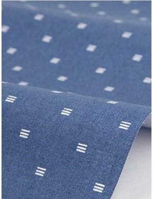 Ткань 100 % Хлопок Dailylike, Квадраты на синем , Плотность 165 г/м2, ширина 110 см.