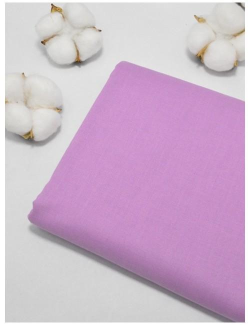 Ткань 100 % Хлопок, Однотонный сиреневый , Плотность 155 г/м2, ширина 110 см.