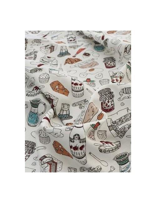 Ткань 100 % Хлопок, Кухня , Плотность 155 г/м2, ширина 110 см.