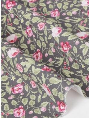 Ткань 100 % Хлопок, Розарий , Плотность 155 г/м2, ширина 110 см.