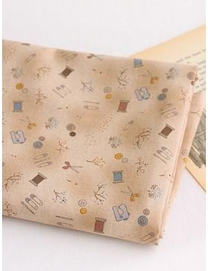 Ткань 100 % Хлопок, Швейные радости , Плотность 155 г/м2, ширина 110 см.