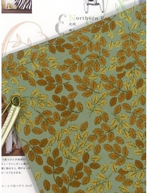 Ткань 100 % хлопок, Осенние листья , плотность 155 г/м2, ширина 110 см.