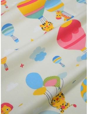 Ткань Животные на шарах