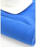 Ткань 100 % хлопок, Горошек на синем, ширина 110 см, плотность 155 г/м2, производитель Корея