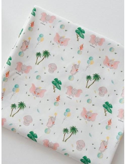 Ткань 100 % хлопок, Дамбо Дисней, ширина 110 см, плотность 155 г/м2, производитель Корея