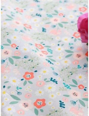 Ткань 100 % хлопок, Сказочные цветы, ширина 110 см, плотность 155 г/м2, производитель Корея