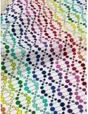 Ткань 100 % хлопок, ДНК на белом фоне, ширина 110 см, плотность 155 г/м2, производитель Корея