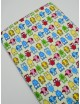 Ткань 100 % хлопок, Совы цветные, ширина 110 см, плотность 155 г/м2, производитель Корея