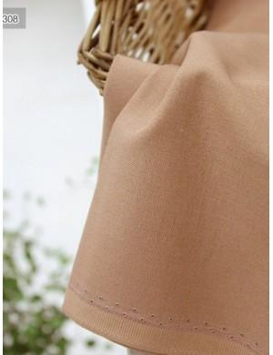 Ткань 100 % хлопок, Однотонная для тела кукол 308, ширина 110 см, плотность 160 г/м2