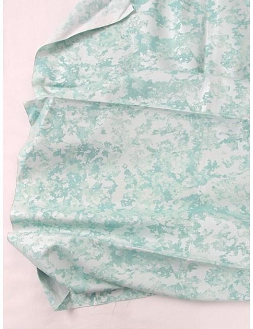 Ткань 100 % хлопок, Голубой мрамор , ширина 110 см, плотность 155 г/м2, производитель Корея